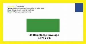 9 remittance envelope template pdf templates resume With 9 remittance envelope template