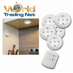 Bilder Lampen Mit Batterie : 5 led unterbauleuchten warmwei fernbedienung batteriebetrieb unterbaustrahler ebay ~ Markanthonyermac.com Haus und Dekorationen