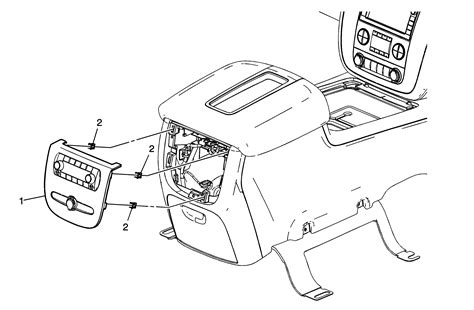 How Remove The Rear Controls Tahoe