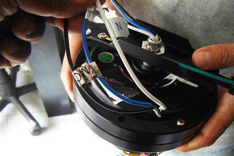 solucionado ventilador de techo  cables yoreparo