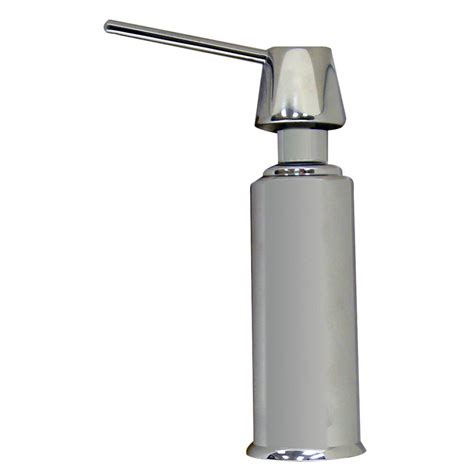 air gap soap dispenser with nozzel in chrome danco