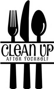 Decorative Fork And Spoon For Wall by Clean Up After Yourself Quotes Google Search Employee