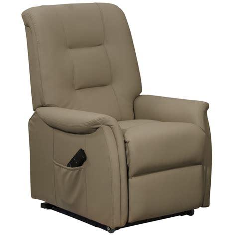 fauteuil releveur relaxation simili cuir 1 moteur