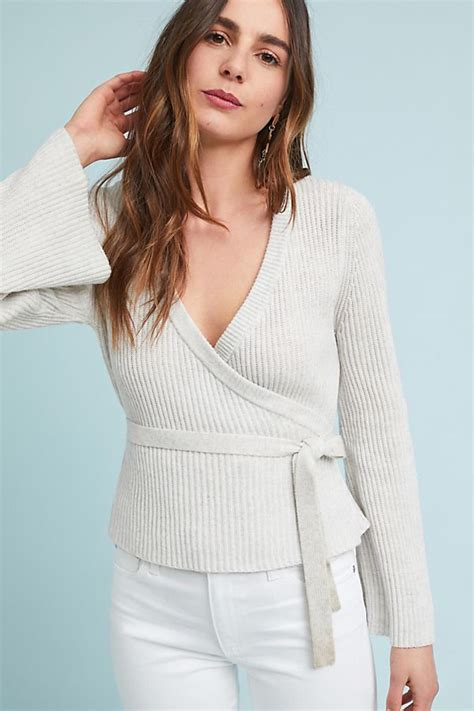 andress wrap sweater anthropologie