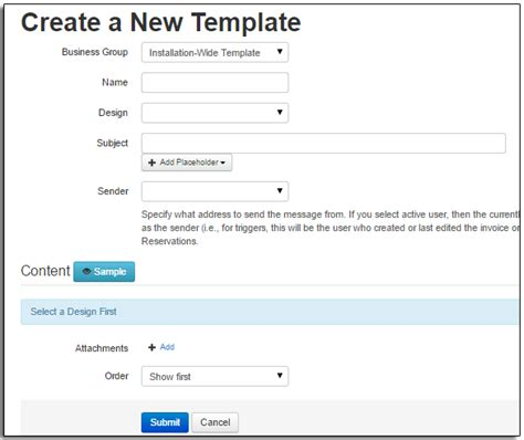 create a new page template email templates part 2 creating new email templates arctic reservations support