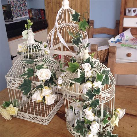 shabby chic wedding decor hire birdcage offer hireapostbox com