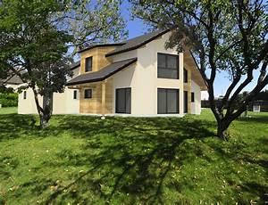Grande Maison Moderne  U00e0 Ossature Bois Nos Projets Maison