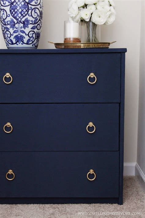 Blue Nightstand by Diy Fabric Covered Nightstand Navy Blue Quot Diy Home