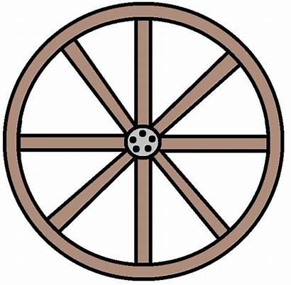 Wagon Wheel Clipart Wheels Western Clip Train