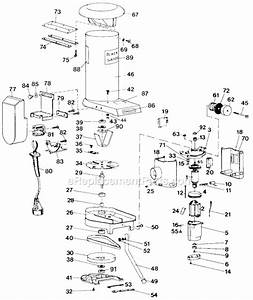 Black And Decker G-8501 Parts List And Diagram