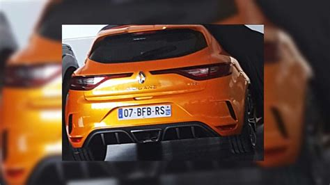 Renault Clio R S 4k Wallpapers by 2018 Renault Megane Rs Truly Revealing Image Pops Up