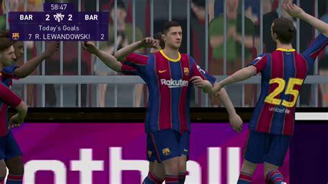 pro Evolution Soccer Barcelona FC vs Manchester United ...