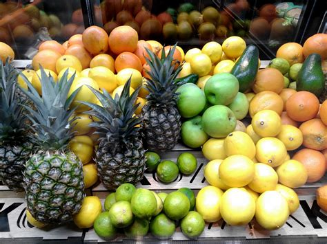 Free picture: supermarket, fruit, food, market, pineapple ...