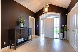 Impressive tall floor vases in Entry Contemporary with