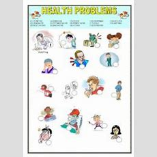Health Problems Worksheets
