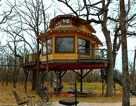 The World's Coolest Man Cave And It's A Treehouse If