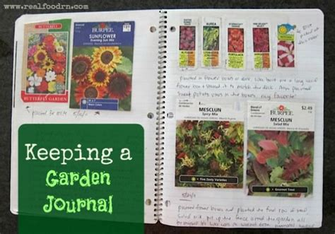 garden journal ideas  pinterest bullet