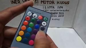 Lampu Senja T10 Ganti Warna Pakai Remote Ivm Iner Variasi