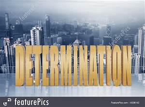 Determination Word Picture