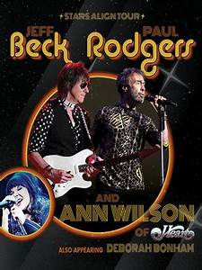 Jeff Beck And Paul Rodgers Northwell Health Wantagh NY