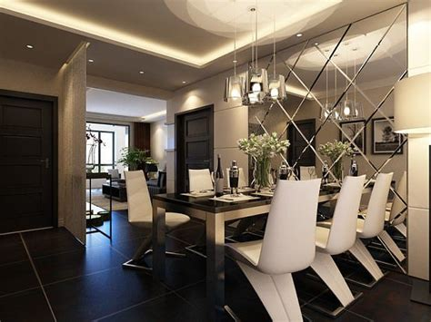 model high quality living  dining room  cgtrader