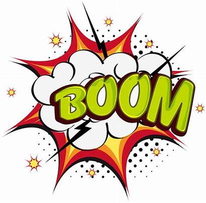 Superhero Comic Bubbles Speech Sound Clipart Boom