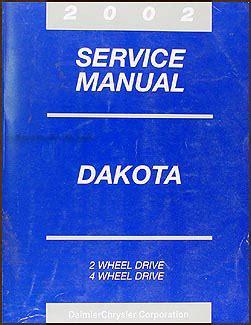 car maintenance manuals 2002 dodge dakota club electronic throttle control 2002 dodge dakota repair shop manual original