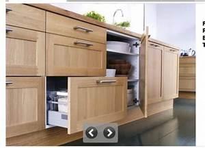 Facade Meuble De Cuisine : projet cuisine 9 les tiroirs brico info le blog de ~ Edinachiropracticcenter.com Idées de Décoration