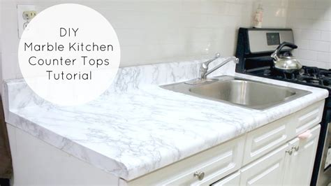 cheap easy diy marble kitchen counters youtube