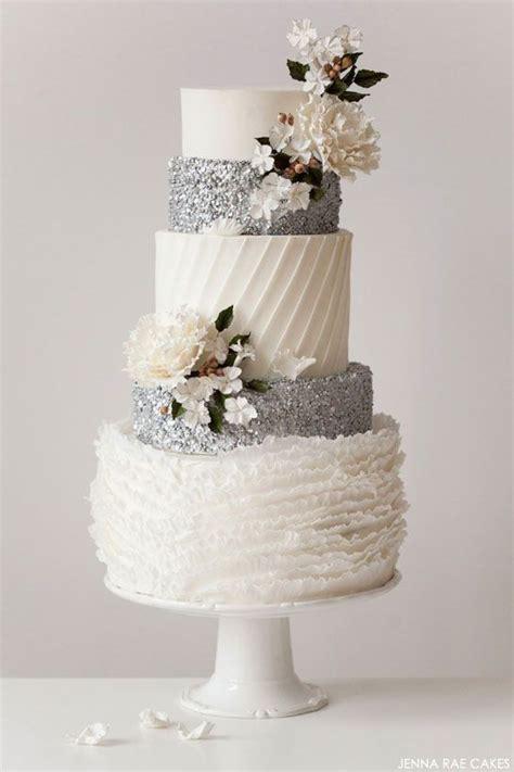 Top 10 Elegant White Wedding Cake  Fancy Wedding Style