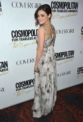 Lucy Hale at Cosmopolitan Fun Fearless Awards in New York ...