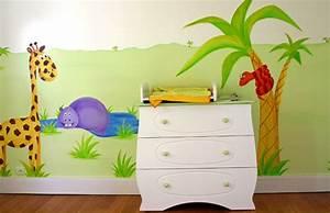 Peinture Mur Chambre : stunning mur chambre enfant photos awesome interior home ~ Voncanada.com Idées de Décoration