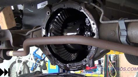 rear differential service   chevrolet tahoe