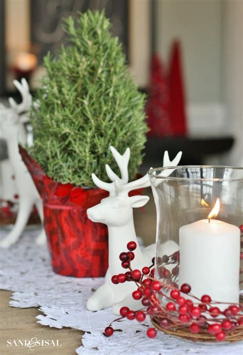 Coastal Christmas Home Tour  part 2   Sand and Sisal