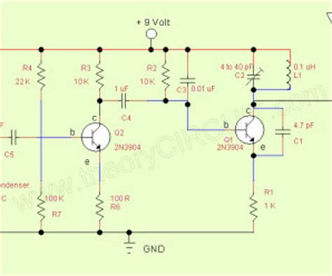 Simple Transmitter Receiver Circuit Diagram Archives