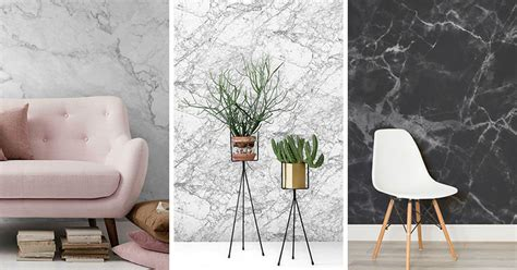 examples  modern marble wallpaper contemporist
