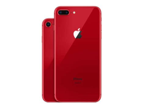 A Close Look At Apple's Red Iphone 8