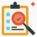 Evaluation Check Research Icon Icons Data Editor