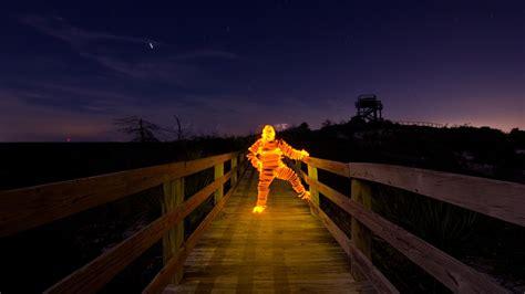 "Check Out Jason D. Page's Creative ""light Man"" Light"