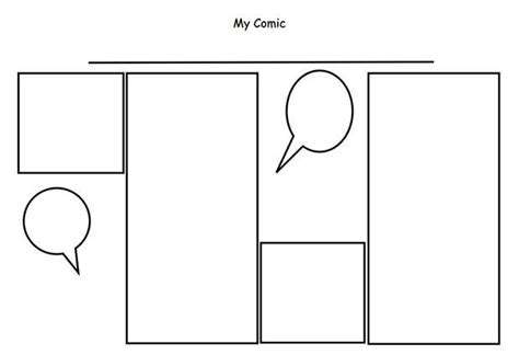 comic strip template  premium templates