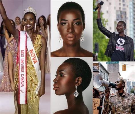 Do you like this video? Nova Stevens : La première noire élue miss Canada, victime de racisme (PHOTOS)