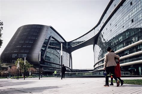 Architecture Buildings Shanghai China Image Free