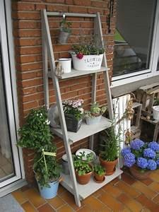 Blumenregal Metall Balkon : blumenleiter handmade kultur ~ Buech-reservation.com Haus und Dekorationen