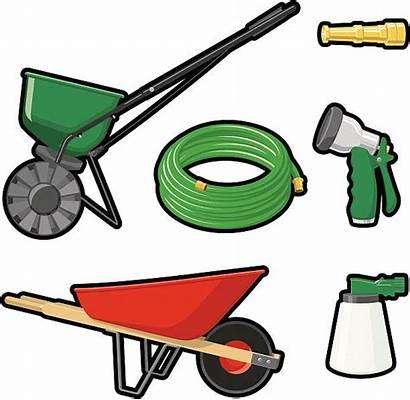 Garden Hose Vector Tools Outdoor Clip Illustrations