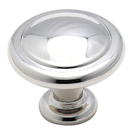 home depot kitchen cabinet knobs amerock 1 1 4 in polished chrome cabinet knob bp138726