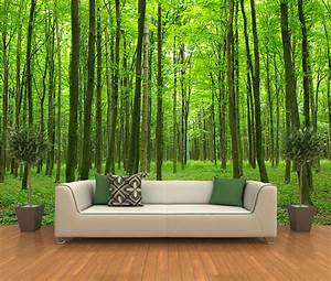 Peel and stick photo wall mural decor wallpapers forest