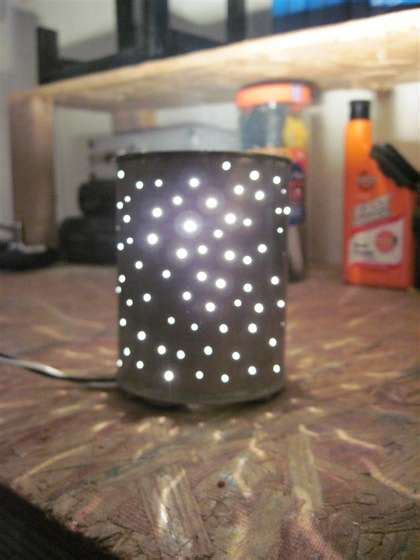 If you've ever picked broken crayon out of your carpet then you know how important it is for kids to have their own storage turn that plastic coffee can into a beautiful gift box. Five Awesome Coffee Can Projects - Crafting a Green World