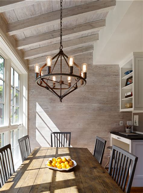 sunday features rustic dining rooms seeking lavender lane