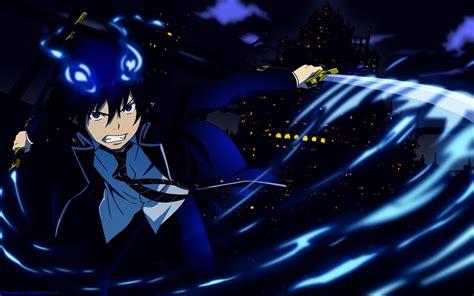 Blue Wallpaper Anime - anime blue exorcist okumura rin wallpapers hd