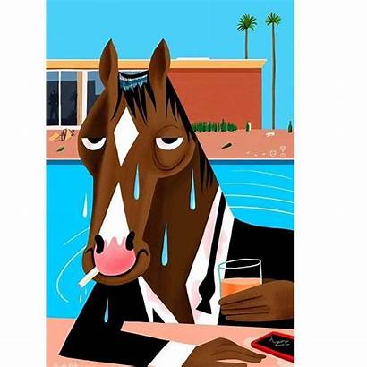 Horse Netflix Cartoon Kalt Ben Horseman